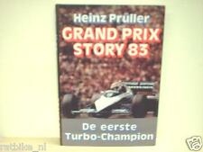 GRAND PRIX STORY 83 Heinz Prüller, F1, FORMULA ONE NELSON PIQUET TURBO ENGINES