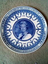 Vintage Wedgewood Golden Jubilee Collectors Plate