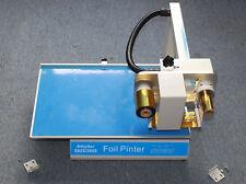 8025 Digital Automatic Hot Foil Stamping Machine Gold Foil Press Printer 110v