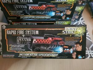 New in box Wowwee Light Strike Rapid Fire System 3442 LASER TAG
