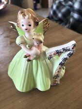 Vintage Josef Originals Birthday Angel Figurine 7th Year Girl With Tag