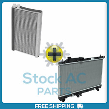 New A/C Evaporator Core + Radiator for Subaru Legacy, Outback QA