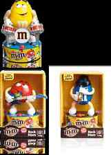 M&M's Figuren Spender   Rock Stars // Saxophon blau mit Sound + Bewegung