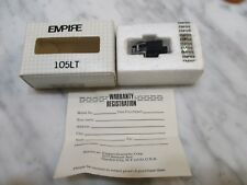 EMPIRE 105LT LINEAR TRACKING NEW CARTRIDGE AND NEW ORIGINAL STYLUS NEEDLE IN BOX
