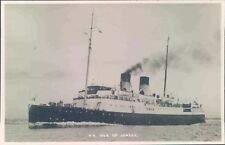 Postcard Shipping ferries S.S Isle Of Jersey  unposted