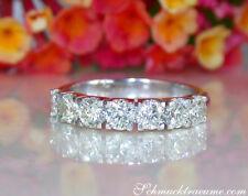 Klassisch: Stattlicher Diamanten Halb Memory Ring, 1.50 ct. W SI WG 585 ab 4800€