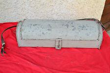 Ancienne caisse à outils de plombier en zinc (50cm)