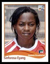Panini Women's World Cup 2011 - Sinforosa Eyang Equatorial Guinea No. 319