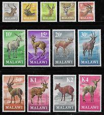 More details for malawi 1971-75 antelopes set of 13 complete mnh sg £38 (2011)