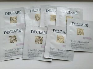 DECLARE Multi Lift Decollete Remodeling neck cream 5ml sachets x10 = 50ml