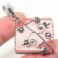"""Straberry Quartz Handmade Ethnic Style Jewelry Pendant 1.97 """" SS-544"""