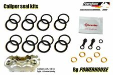 DUCATI HYPERMOTARD HYM 1100 BREMBO Freno Frontal Kit Sello Calibrador 2007 2008