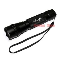 New UltraFire Tactical WF-501B Xenon 7.4V 130 Lumens CR123A Flashlight Torch