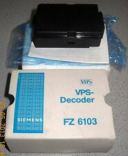 Siemens VPS Decoder FZ6103 Video Programm System