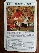 Johan Cruyff Holanda Países bajos Ajax Barcelona Feyenoord década de 1970 Trading Card