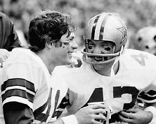 Charlie Waters & Cliff Harris - Dallas Cowboys, 8x10 B&W Photo