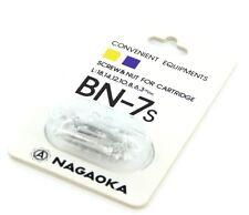 NAGAOKA bn-7s CARTUCCIA viti di montaggio-ALLUMINIO