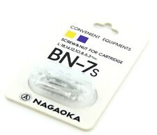 Nagaoka BN-7S Cartucho Tornillos de montaje-Aluminio