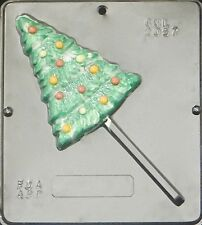 FS NEW Christmas Large TREE Chocolate Candy Clay Fondant Plaster Lollypop Mold