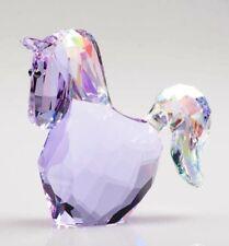 Swarovski Crystal Lovlots Jasmine Purple Horse Figurine #1079474 - Retired - NIB