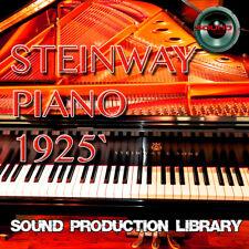 Steinway Piano 1925 - Large Wav/Kontakt Multi-Layer Studio Samples Library 2DVD