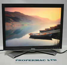 """Dell 20"""" 2007FPb TFT LCD Moniteur 1600X1200 4:3 Grade Bon état câbles garantie en forme de V"""