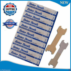 NASAL STRIPS Breathe Better & Reduce Snoring Right Now (SMALL/MED/LARGE) 5-1000