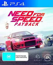 Need For Speed Payback - Playstation 4 (PS4) Brand New Sealed