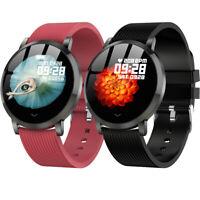 Waterproof Sports Smart Watch Heart Rate Blood Pressure Monitor Activity Tracker