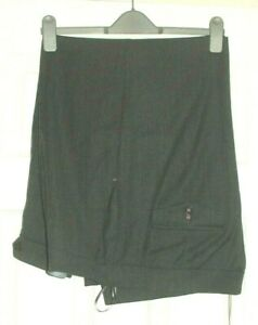 M&S  Autograph Range Ladies Trousers Wool Mix With Turn Ups Size 22