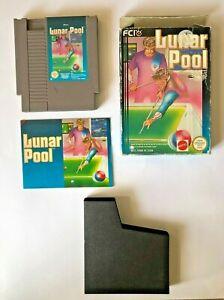 Lunar Pool - NES -  Nintendo - Boxed - PAL