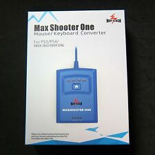 New Max Shooter One Mouse Keyboard Converter Adapter for to PS4 PS3 XBOX ONE 360