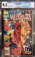1991 NEW MUTANTS #98 CGC 9.2 NM- 1st Appearance DEADPOOL MJ Mark Jewelers insert