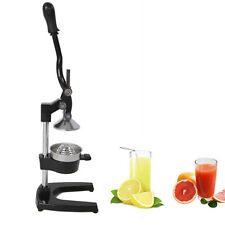 Orange Hand Press Commercial Pro Manual Citrus Fruit Lemon Juicer Juice Squeezer