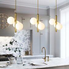 Glass Lamp Kitchen Pendant Light Gold Chandelier Lighting Modern Ceiling Lights