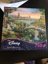 Disney Dreams Collection Thomas Kinkade 101 Dalmations 750 pc Jigsaw Puzzle NEW