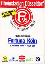 II. BL 88/89 Fortuna Düsseldorf - Fortuna Köln, 01.10.1988