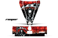 Hood & Tailgate Graphics Kit Decal Sticker Wrap Can-Am BRP Commander REAPER RED