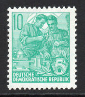 East Germany 10pf Stamp c1953-55 Unmounted Mint Never Hinged (5293)