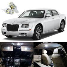 14 x Xenon White LED Interior Light Package Kit For Chrysler 300 300C 2005- 2010
