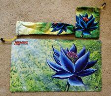 Black Lotus playmat -Dice Bag- Playmat Tube-Full Set