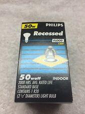 50 Watt Recessed Indoor Flood Lamp Philips 130V R20 Reflector Bulb