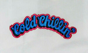 Cold Chillin' Pink and Blue Patch 90's old school hip hop biz markie juice crew