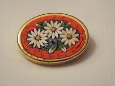Vintage Mosazic Enamel Pin - Italy