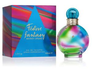 Britney Spears Festive Fantasy 100ml EDT Womens Fragrance Sealed & Genuine
