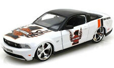 FORD MUSTANG GT 2011 1/24 Diecast Model Car HARLEY DAVIDSON Metal Models