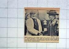 1951 Mark Owen Griffiths Billingsgate Market Foreman Fish Porter