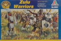Zulu War Zulu Warriors Plastic Kit 1:72 Model ITALERI