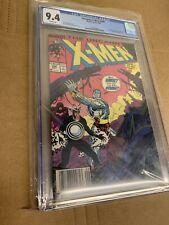 Uncanny X-Men #248 - CGC 9.4 Newsstand - Marvel 1989 - 1st Jim Lee In X-men!