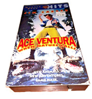 VHS TAPE Ace Ventura When Nature Calls VHS 1995 WB Greatest Hits Jim Carrey